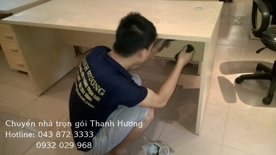 Chuyển văn phòng chuyên nghiệp tại phố Hoàng Sâm