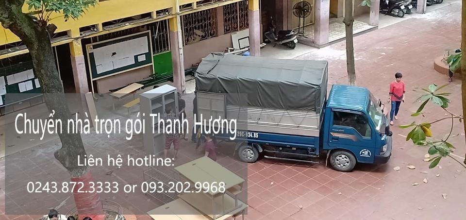 Chuyển nhà trọn gói 365 phố Ngũ Xã đi Thanh Hóa