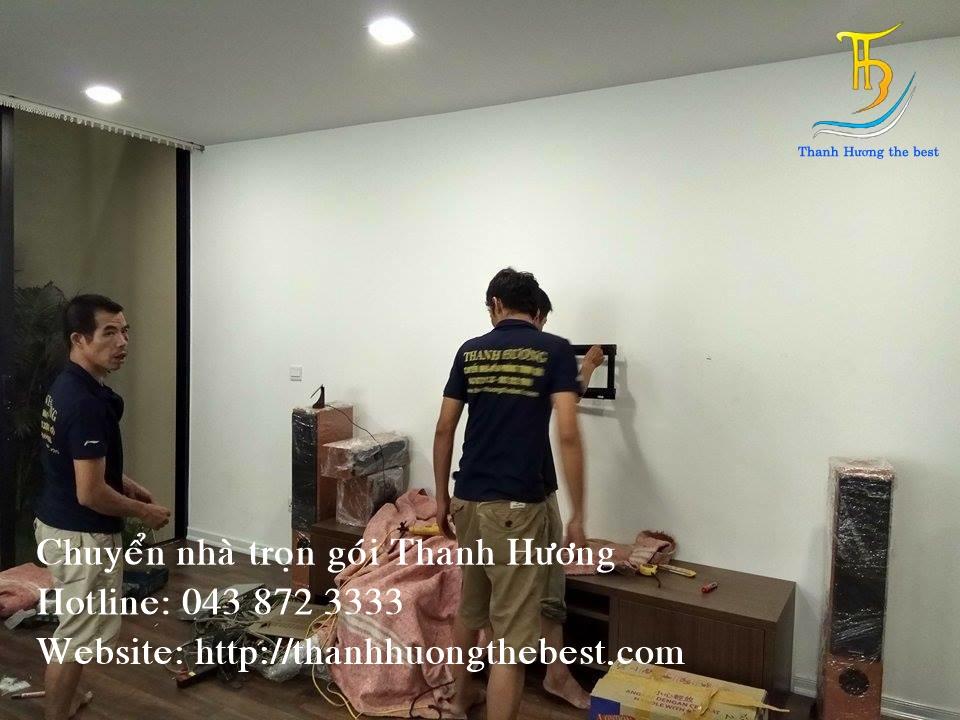 Chuyển văn phòng chuyên nghiệp tại phố Mạc Thái Tông