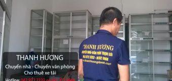 Chuyển nhà trọn gói tại phố Phú Viên