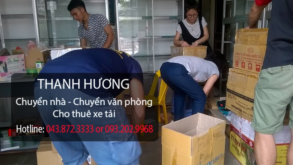Chuyển nhà giá rẻ 365 tại phố Võ Văn Dũng