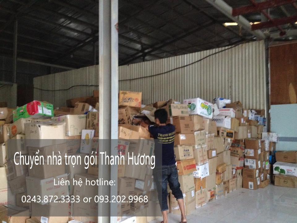 Dịch vụ chuyển nhà trọn gói 365 tại phố Huỳnh Thúc Kháng