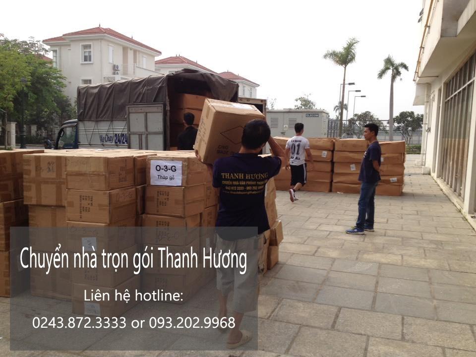 Dịch vụ chuyển nhà trọn gói giá rẻ chuyên nghiệp tại phố Thép Mới