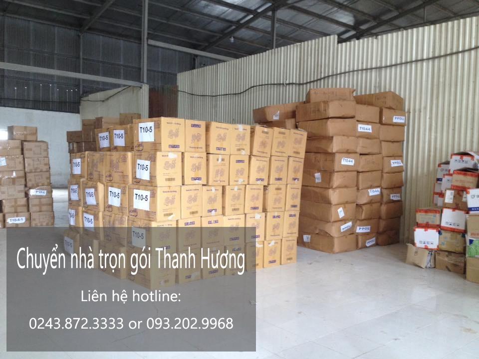 Dịch vụ chuyển nhà trọn gói 365 tại phố Khúc Hạo