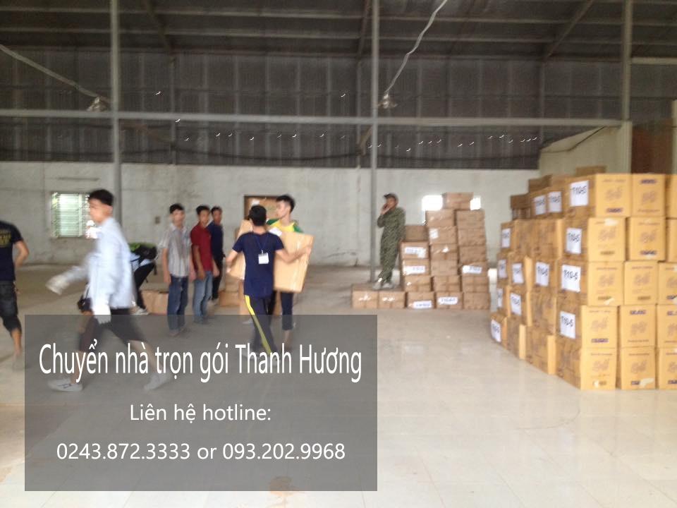 Chuyển nhà trọn gói tại phố Hàng Chai