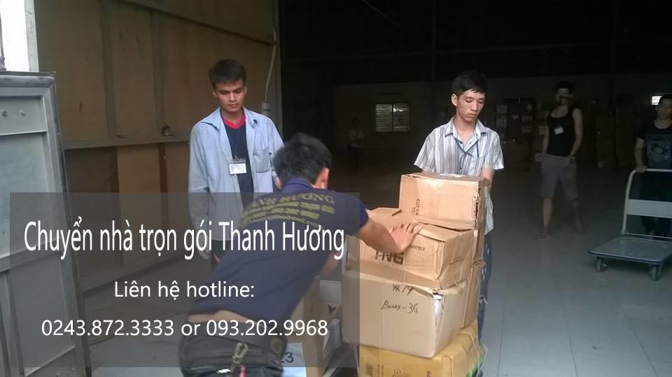 Dịch vụ chuyển nhà trọn gói 365 giá rẻ tại phố Nguyễn Chánh
