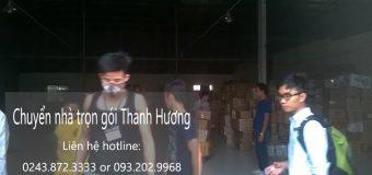Dịch vụ chuyển nhà trọn gói 365 tại phố Hương Viên