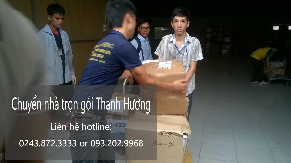 Dịch vụ chuyển nhà trọn gói 365 tại phố Mai Dịch