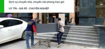 Dịch vụ chuyển nhà trọn gói 365 tại xã Quang Lãng