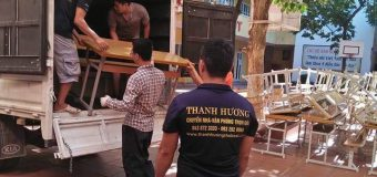dịch vụ chuyển nhà tại hà nội của công ty Thanh Hương
