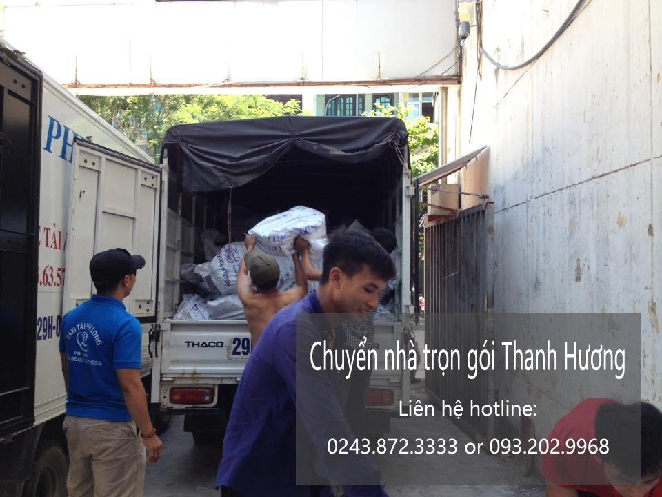 Chuyển nhà trọn gói 365 tại phố Yên Bình