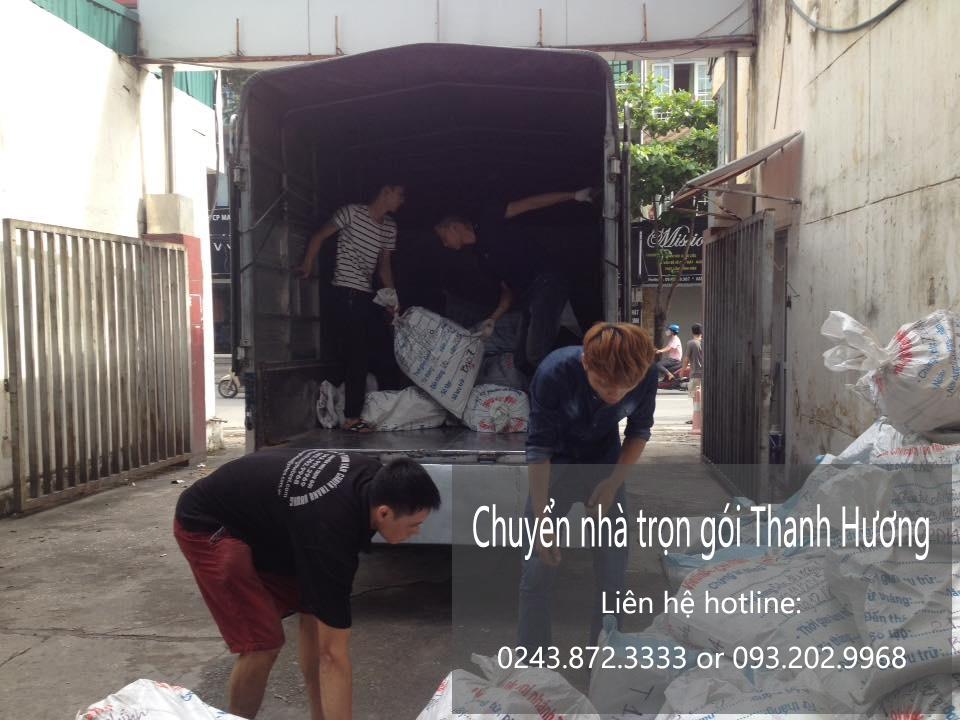 Chuyển nhà trọn gói tại phố Huế