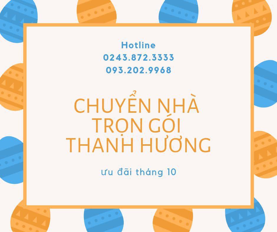 Chuyển nhà trọn gói 365 Thanh Hương