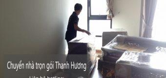 Dịch vụ chuyển nhà trọn gói 365 tại phố Phú Lương