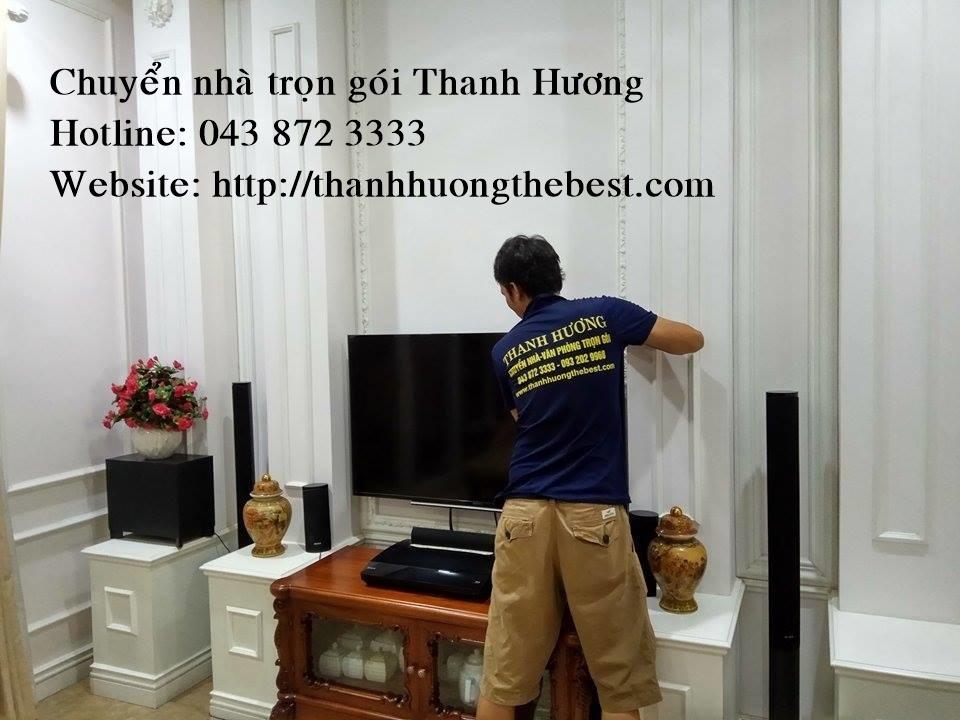 Chuyển văn phòng tại phố Thành Thái