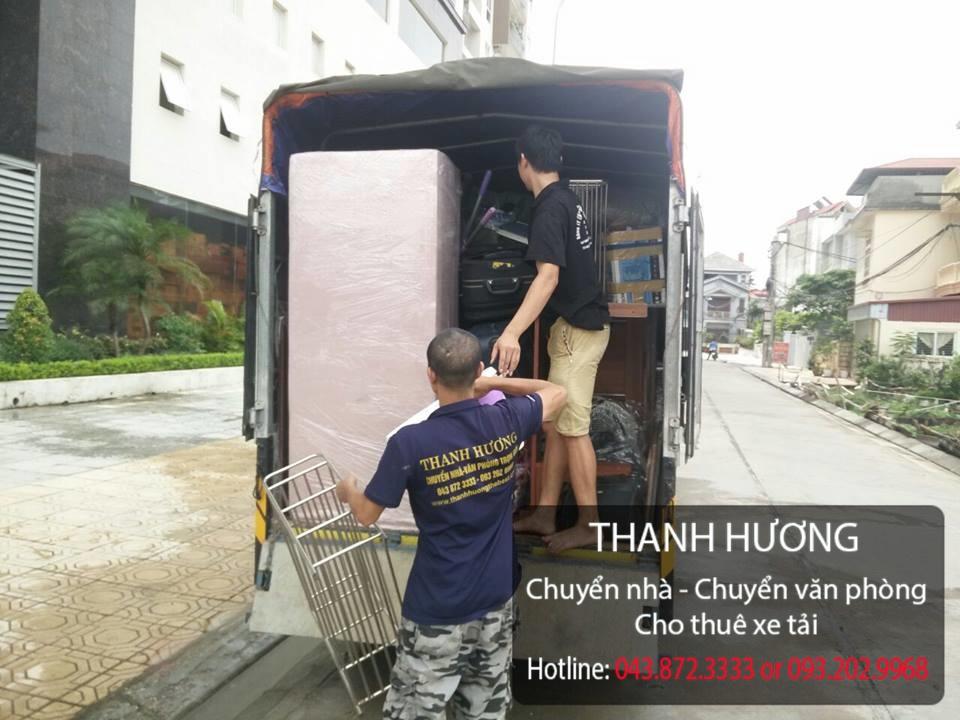 Dịch vụ chuyển nhà trọn gói 365 tại đường Đào Cam Mộc