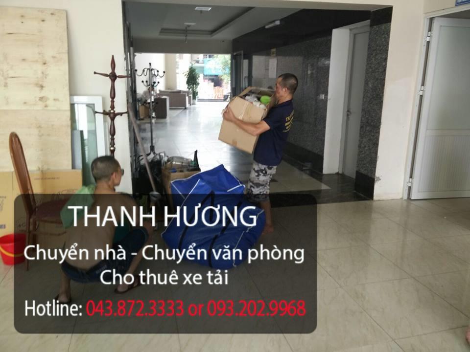 Thanh Hương 365 cung cấp chuyển nhà trọn gói tại phố Chu Huy Mân