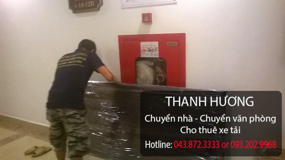Công ty Thanh Hương nhận vận chuyển nhà trọn gói tại phố Chu Huy Mân
