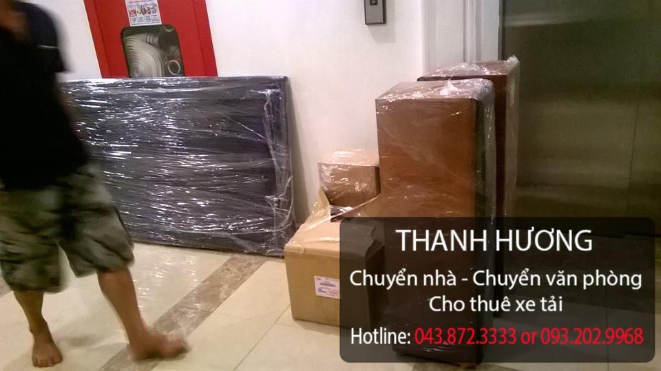 Thanh Hương cung cấp dịch vụ chuyển nhà trọn gói tại phố Thạch Bàn