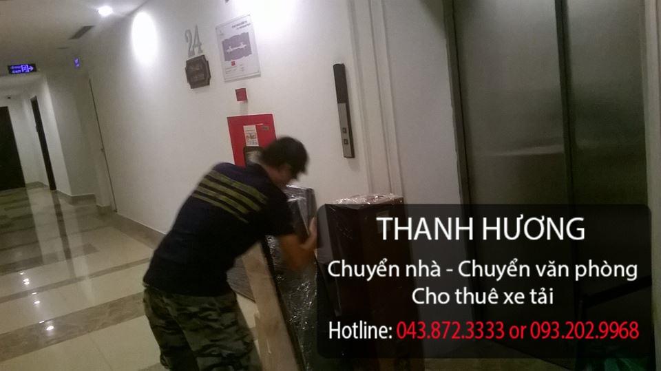 Dịch vụ chuyển nhà trọn gói 365 tại phố Thạch Bàn