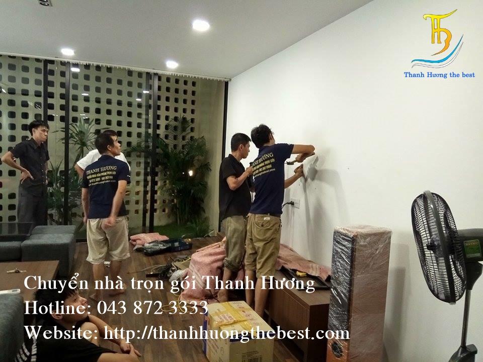 Chuyển văn phòng trọn gói tại phố Mạc Thái Tổ