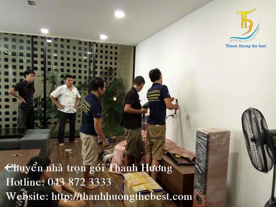 Chuyển nhà tại phố Mạc Thái Tông