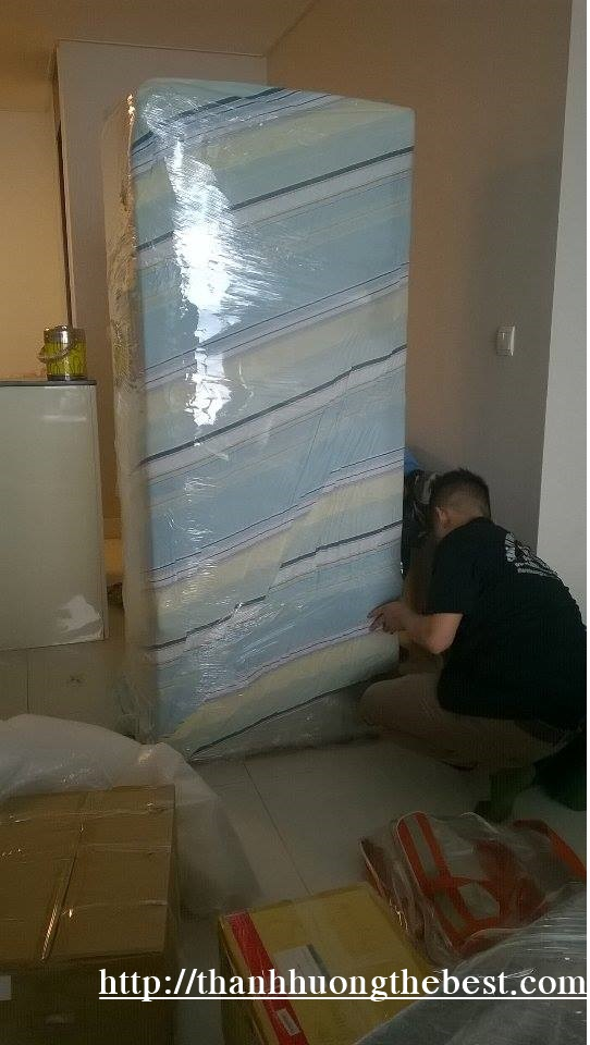 Hình ảnh bọc tủ lạnh tại khu đô thị Linh Đàm