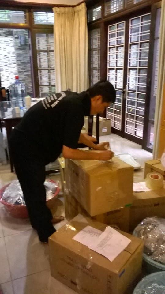 Hình ảnh đóng thùng tại quận Ba Đình