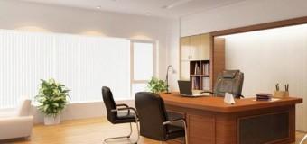 Chọn hướng bàn làm việc trong văn phòng tốt trong năm 2015