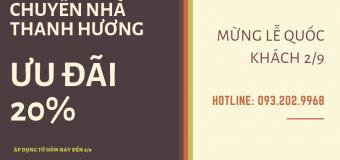 Dịch vụ chuyển nhà trọn gói 365 tại phố Hoàng Ngọc Phách