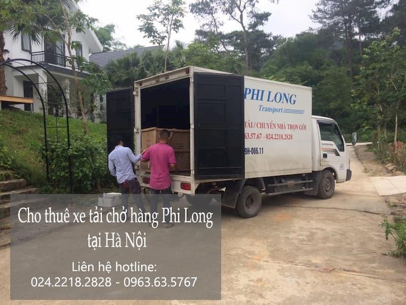 Taxi tải chuyển nhà tại đường Bồ Đề đi Thái Bình