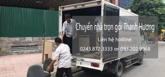 Dịch vụ chuyển nhà trọn gói tại phố Hào Nam