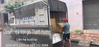 Dịch vụ chuyển nhà trọn gói Thanh Hương tại phố Hạ Yên
